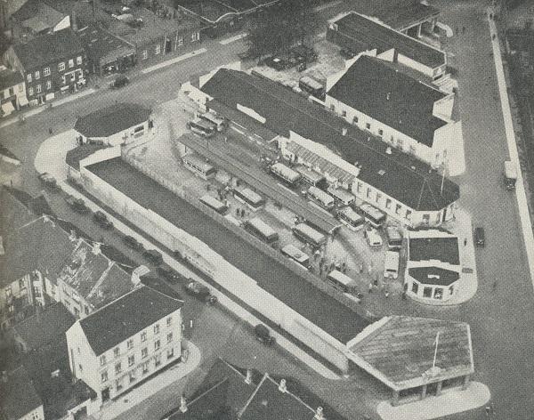 Rutebilstationen på Amtmandstoften