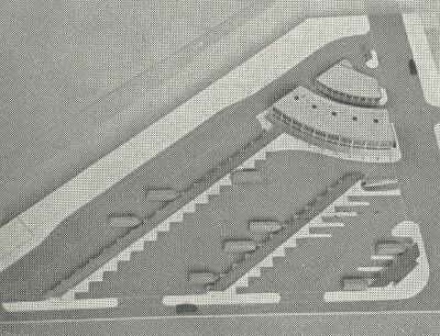Model af Aarhus rutebilstation