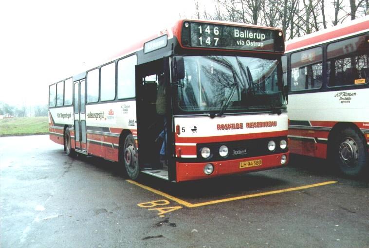 Bus på Østrup Trafikplads