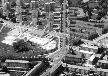 Luftfoto af Bellahøj 1960