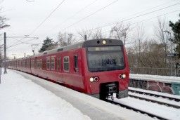 Tredjegenerationstog på Ringbanen