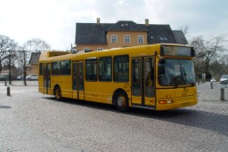 Fjord-bus' lånevogn 5267 i Farum