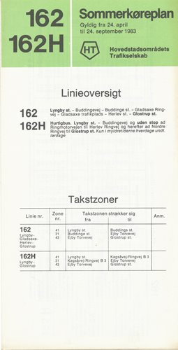 Linjekøreplan 