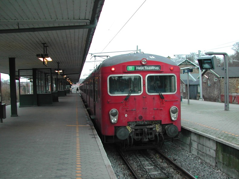 DSB S-tog MM 7788 på Holte station