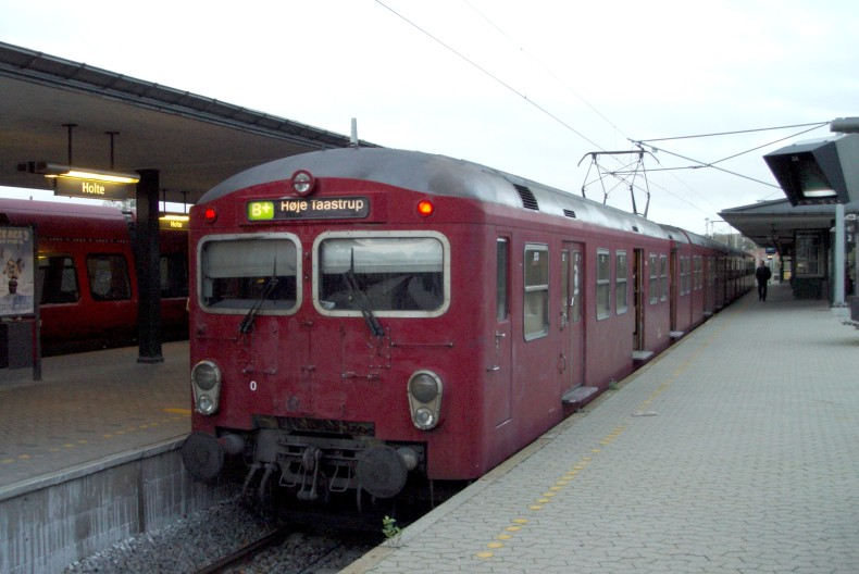 DSB S-tog MM 7793 på Holte station