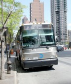 Ekspresbus nr. 3173 i New York
