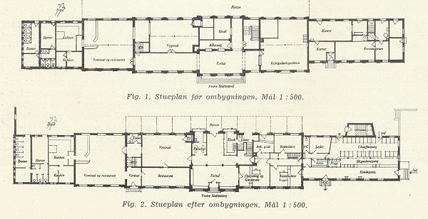 Odense Sydbanegårds stueetage