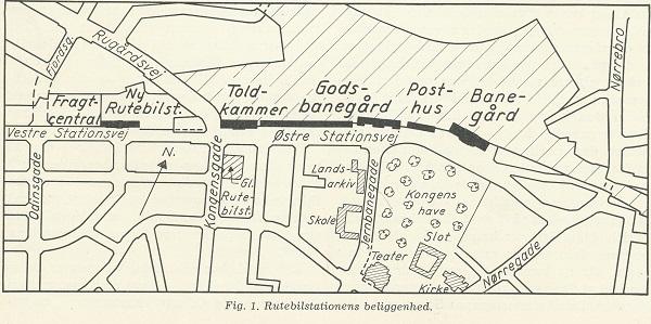 Kongensgade og Rugårdsvejs rutebilstationer