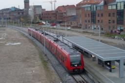 SA-tog på Ny Ellebjerg station