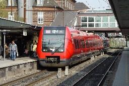 SA-tog på Valby station