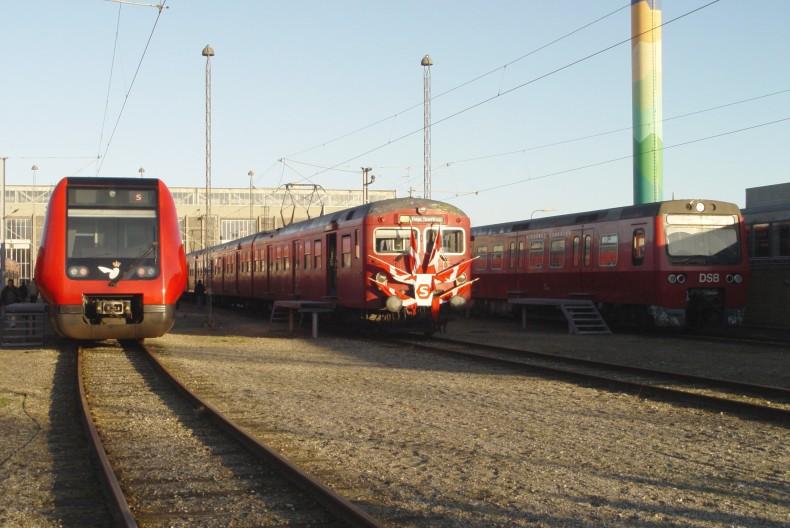 Tre generationer af S-tog