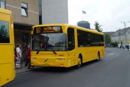 Wulff Bus 3055 p� Roskilde st.