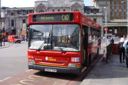 London Central LDP143 ved Victoria Station, London