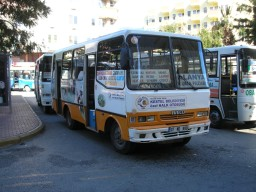 Iveco-bus 07 ND 880 i Alanya, Tyrkiet