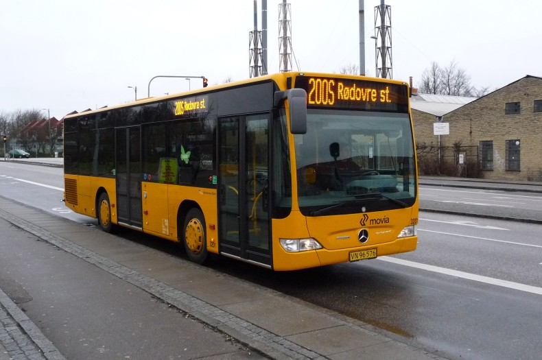 Anchersen Rute 3201 ved Gladsaxe Trafikplads