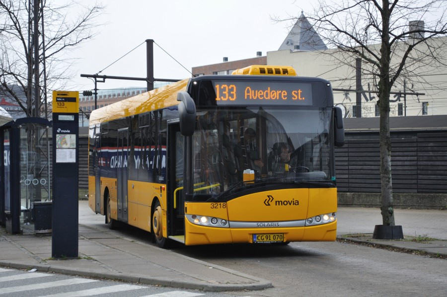Anchersen Rute 3218 ved Valby st.