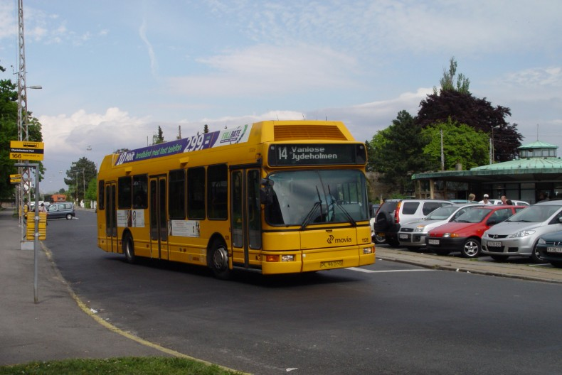Arriva 1128 ved Charlottenlund Fort