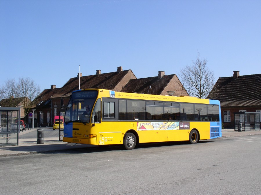 Arriva 1171 ved Ringsted st.