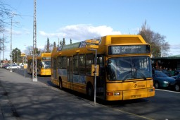 Arriva 1215 ved Charlottenlund Fort