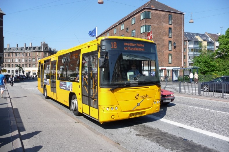 Arriva 1240 ved Valby st.