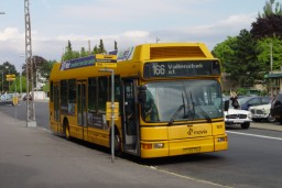 Arriva 1628 ved Charlottenlund Fort