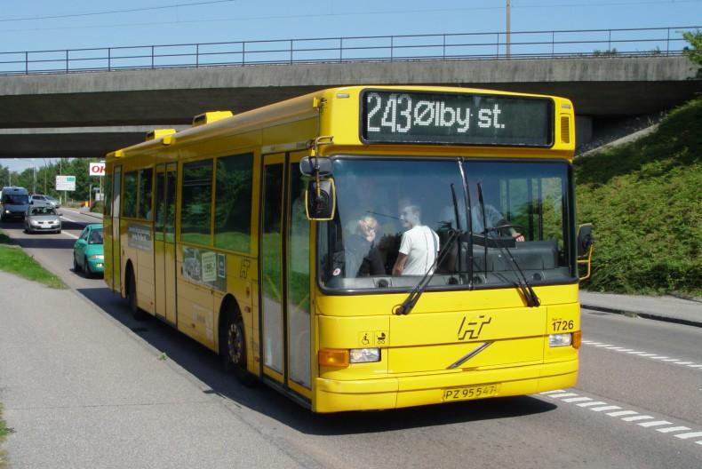 Volvo B10BLE-60Aabenraa (1999) leveret til Bus Danmark som...