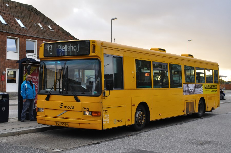Arriva 1742 ved Glostrup st.