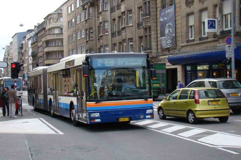 AVL 87 i Luxembourg