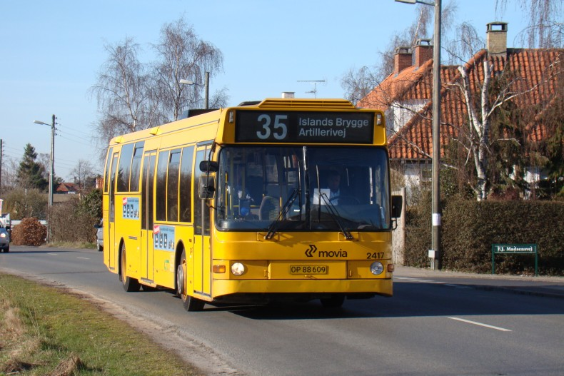City-Trafik 2417 på Stationsvej, Dragør