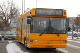 City-Trafik 2672 på Avedøre garage