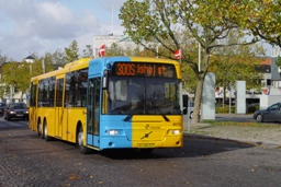 Concordia Bus 6017 på Lyngby st.
