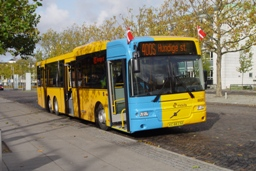 Concordia Bus 6020 på Lyngby st.