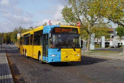 Concordia Bus 6022 på Lyngby st.