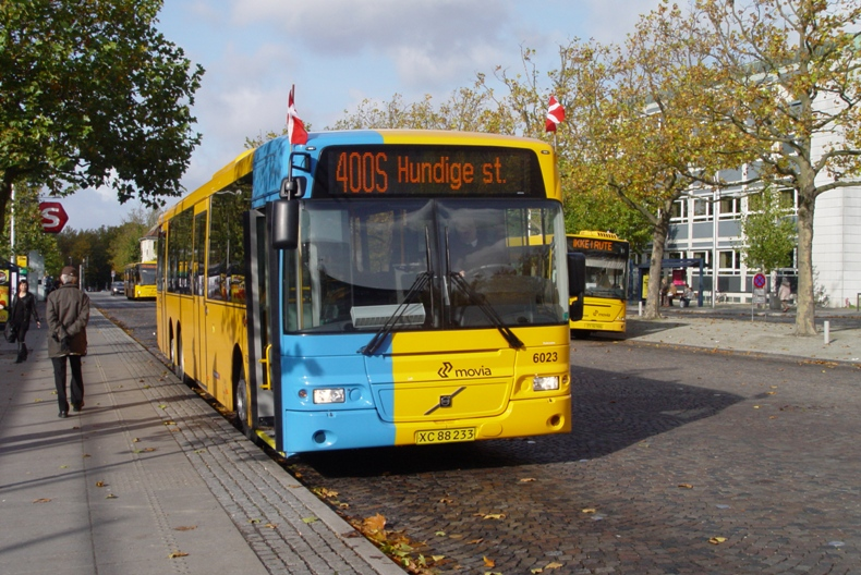 Concordia Bus 6023 på Lyngby st.