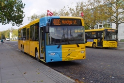 Concordia Bus 6037 på Lyngby st.
