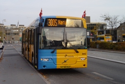 Concordia Bus 6052 ved Glostrup st.