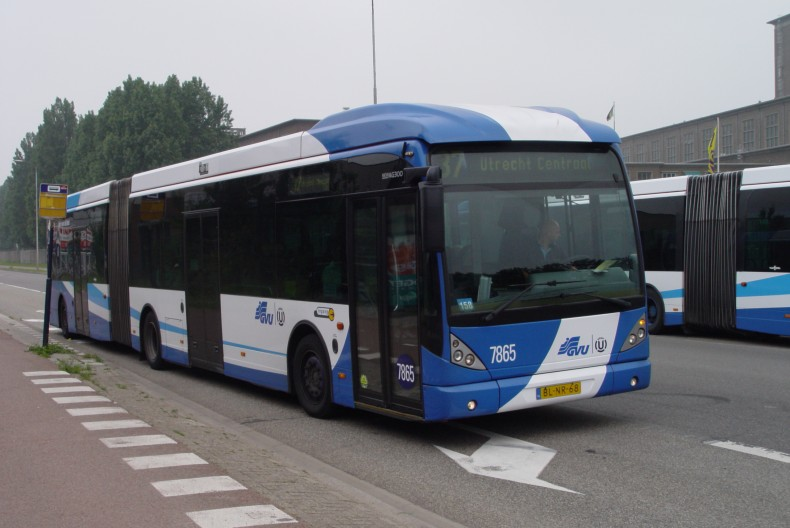 GVU 7865 i Utrecht, Holland
