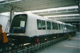 Metrotogsæt 02 på KVC