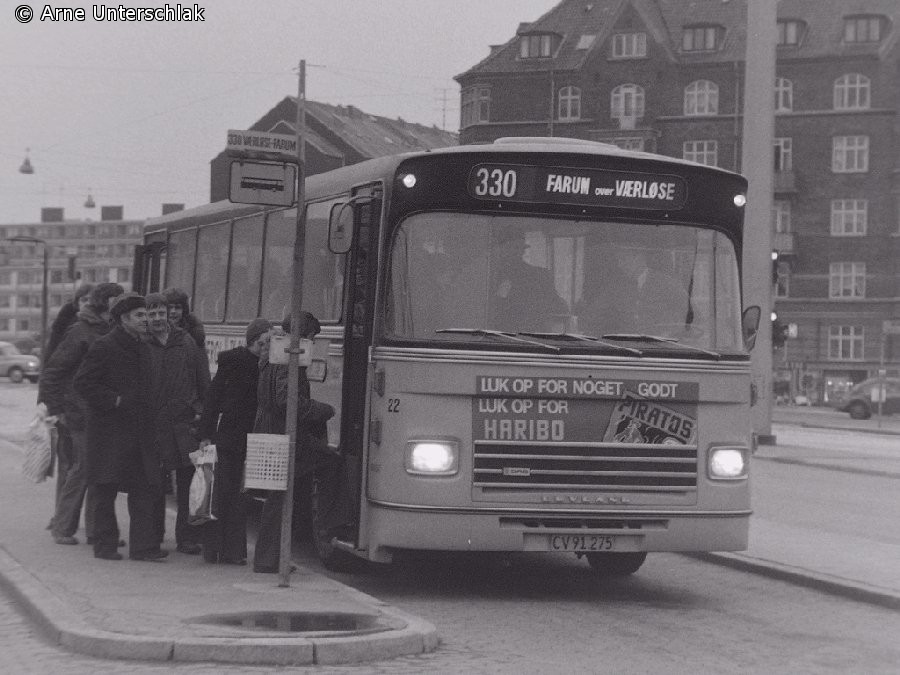 Linje 330-bus på Bellahøj