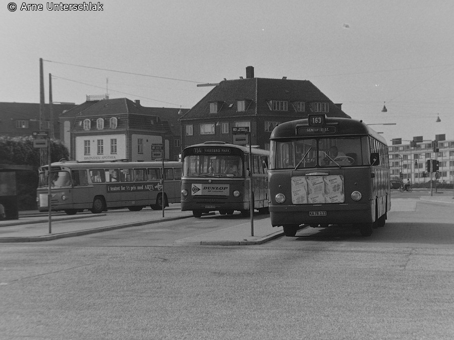 Sidste dag med Forenede Rutebiler-busser på Bellahøj
