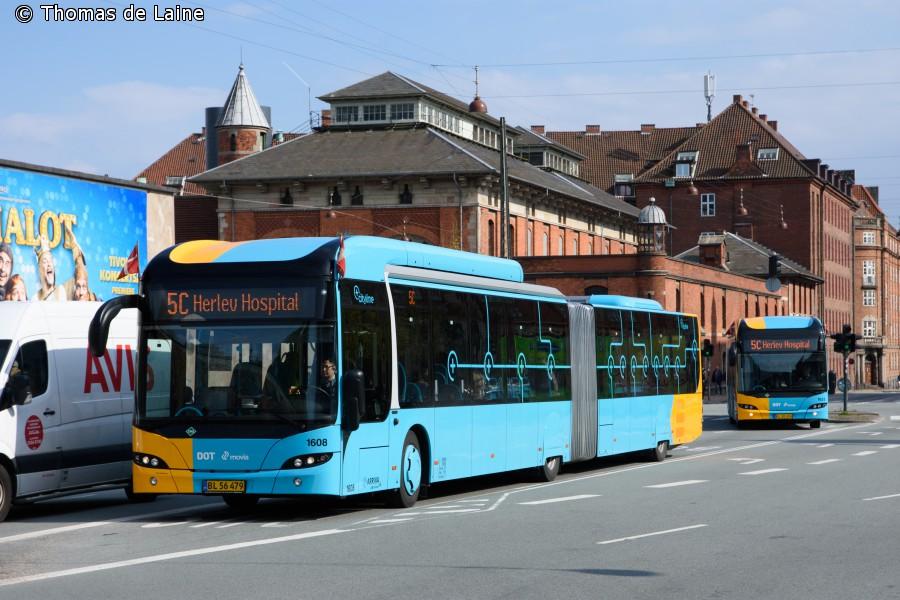 5C-busser i Bernstorffsgade