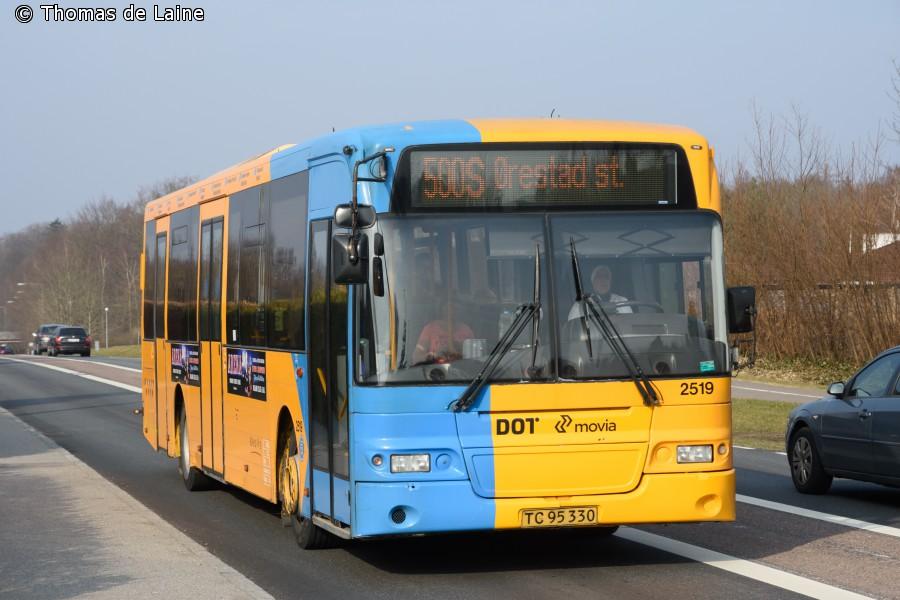 Volvo B12BLE-bus i Værløse