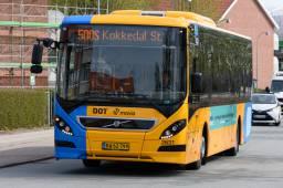 Billeder af busser på linje 500S - Myldretid.dk