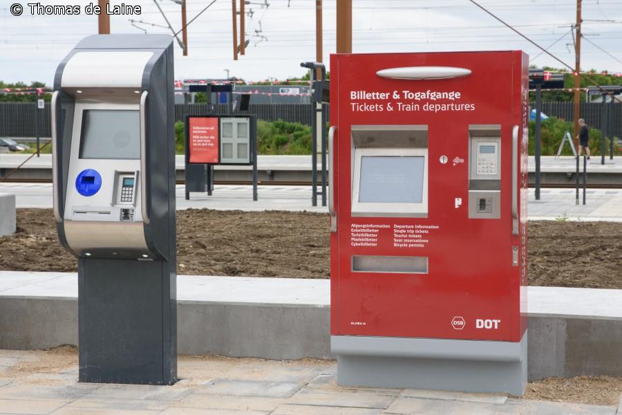 Billet- og Rejsekort-automater