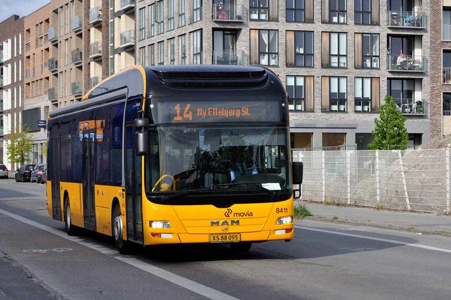 MAN NL253 (2011) leveret til City-Trafik som nr....