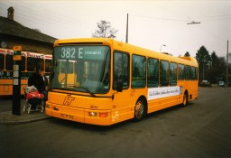 Swebus Sjælland 3011 ved Rungsted Kyst st.