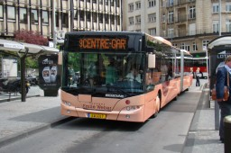 Neoplan-bus fra Emile Weber i Luxembourg